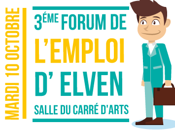 3éme Forum de l'emploi elven octobre 2017
